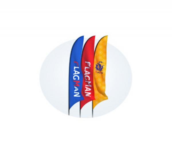 размеры флагов для удочек